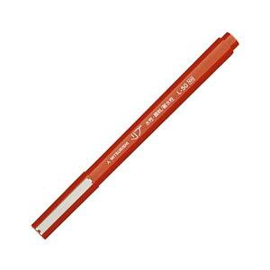 (まとめ) 三菱鉛筆 水性サインペン リブ極細 0.5mm 赤 L50.15 1本 【×60セット】 送料込!