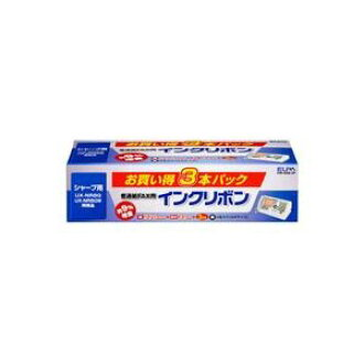 (30 sets for duties) Asahi Electric Corp. ELPA normal FAX ribbon FIR-SR8-3P three *30 set!