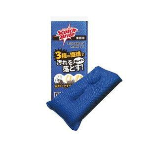 (まとめ)3M スコッチ・ブライト ネットスポンジNo.9400 ブルー 1個【×50セット】 送料無料!