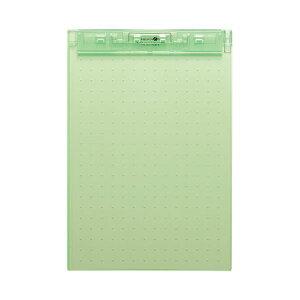 (まとめ)LIHITLAB 超薄型クリップボードA4E 黄緑 A-5067-6【×50セット】 送料込!