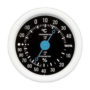 (まとめ)タニタ アナログ温湿度計 ブラックTT-515-BK 1個【×10セット】 送料無料!