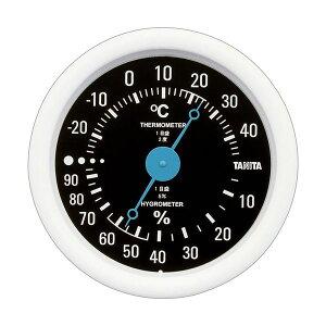 (まとめ)タニタ アナログ温湿度計 ブラックTT-515-BK 1個【×5セット】 送料込!