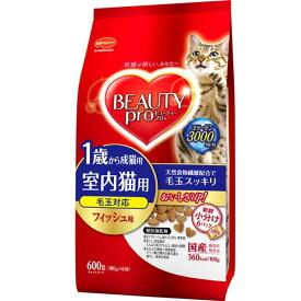 (まとめ)ビューティープロ キャット 成猫用 1歳から 600g【×10セット】【ペット用品・猫用フード】 送料込!