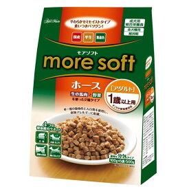 (まとめ)アドメイト more soft ホース アダルト 500g(100g×5袋)【×12セット】【ペット用品・犬用フード】 送料込!