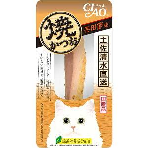 (まとめ) CIAO 焼きかつお 宗田節味 1本 【×24セット】 (ペット用品・猫用フード) 送料込!