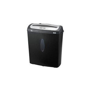 ナカバヤシ クロスカットシュレッダー (A4サイズ/CD・DVD・カードカット対応) NSE-207BK 送料込!