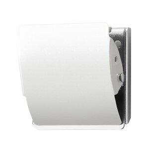 (まとめ)プラス マグネットクリップ CP-047MCR L 白 10個【×5セット】 送料無料!
