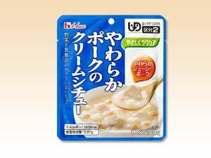 やさしくラクケア やわらか肉のレトルト洋風惣菜 個 ポークのクリームシチュー