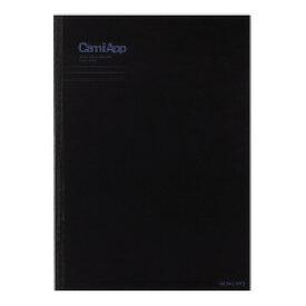 ノートブック<CamiApp>B5 B罫40枚 (ノ-CA90B) ****** 販売単位 1セット(5個入)*****