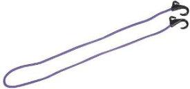 キャプテンスタッグ アウトドア用品 キャリー用フック付コード 120cm パープルM-1706