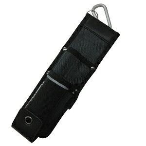 [ワーカーズレーベル] ポーチ ベルトクリップ式カッター差しM CUL-1 ブラック ブラック