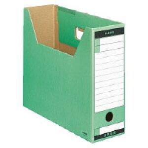 ファイルボックスーFS(Tタイプ)A4段ボール緑(A4-LFT-G)