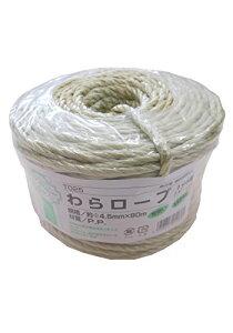 GARDENING RANGUAGE わらロープ 1分5厘 φ4.5mm×90m T025