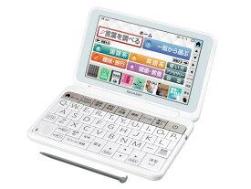シャープ PW-AA1W カラー電子辞書 生活・教養モデル 150コンテンツ収録 ホワイト(PW-AA1-W)