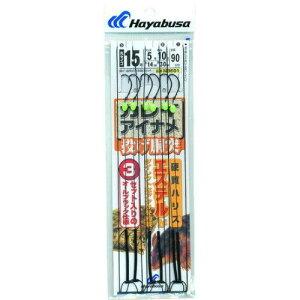ハヤブサ 投げ カレイ アイナメ 胴突式 2本鈎3セット 14 4