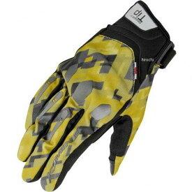 GK-226 STRETCH M-GLV Plaid-Yellow L