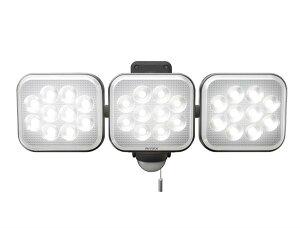 ライテックス LED-AC3042 センサーライト100v 14w×3灯
