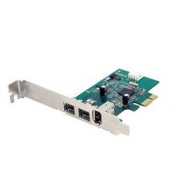 FireWire400 x1/800 x2増設PCIeカード PEX1394B3(PEX1394B3)