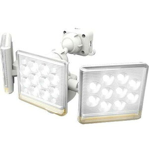 ライテックス LED-AC3045 12w×3灯 フリーアーム式LEDセンサーライト リモコン付