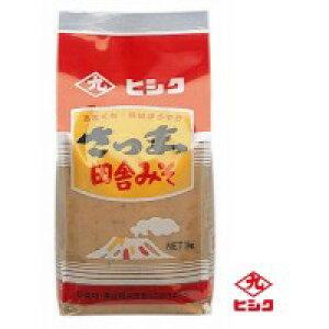 ヒシク藤安醸造 さつま田舎麦みそ(麦白みそ) 1kg×5個 (0283bh)