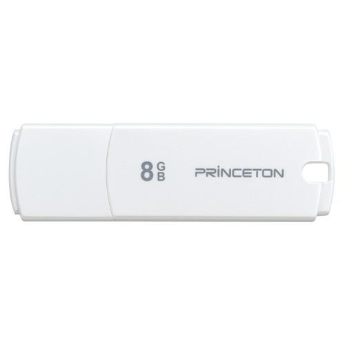プリンストン USB3.0対応 フラッシュメモリー ホワイト 8GB PFU-XJF/8GWH(1コ入)