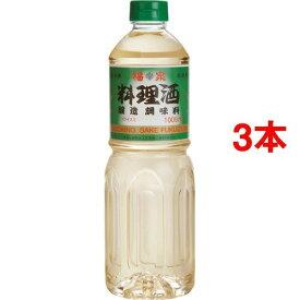 【送料込!】福泉 料理酒 醸造調味料 1L*3コセット 【※送料込の価格です。】