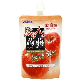 ぷるんと蒟蒻ゼリー スタンディング アップル 130g*8コ入 【ぷるんと蒟蒻ゼリー】【ゼリー飲料(ダイエット)】