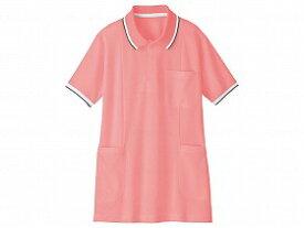WHISEL 半袖ロングポロシャツ WH90338/ピンク/3L 自重堂 WH90338