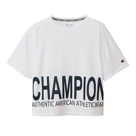 チャンピオン Champion スポーツ・アウトドア ウェア(レディース) S/S T-SHIRT ホワイト(010) M CW-TS316