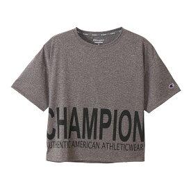 チャンピオン Champion スポーツ・アウトドア ウェア(レディース) S/S T-SHIRT チャコール(080) L CW-TS316