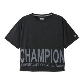 チャンピオン Champion スポーツ・アウトドア ウェア(レディース) S/S T-SHIRT ブラック(090) L CW-TS316