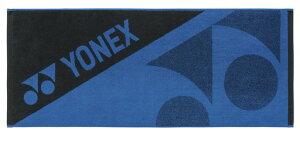ヨネックス YONEX テニス・バドミントン アクセサリー スポーツタオル ブラック/ブルー(188) AC1073 部活動 クラブ活動