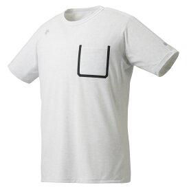デサント DESCENTE マルチトレ−ニング トップス単品(メンズ) 半袖Tシャツ ホワイト杢(WHM) O DMMRJA53Z