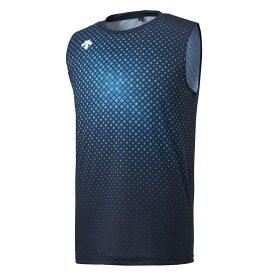 デサント DESCENTE ランニング トップス単品(メンズ) ブリーズプラス ノースリーブシャツ ネイビー(NV) M DRMRJA52