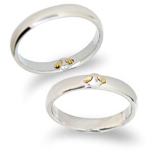 【刻印無料】【納期約4週間】Tenshi no Tamago 天使の卵 Angel Wedding 10金マリッジリング 結婚指輪 レディース メンズ ペア ペアリング 10金 K10 ホワイトゴールド ダイヤモンド 誕生石12色 AW2350-2357K10