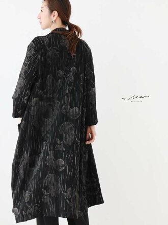 【再入荷♪♪10月22日20時より】「Vieo」シックな柄使い羽織りゆったりレディースVieoヴィオきれいめシンプル大人上品