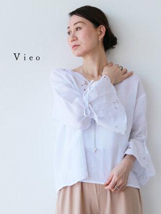【再入荷♪♪4月2日20時より】「Vieo」清らかな風をまとってトップス