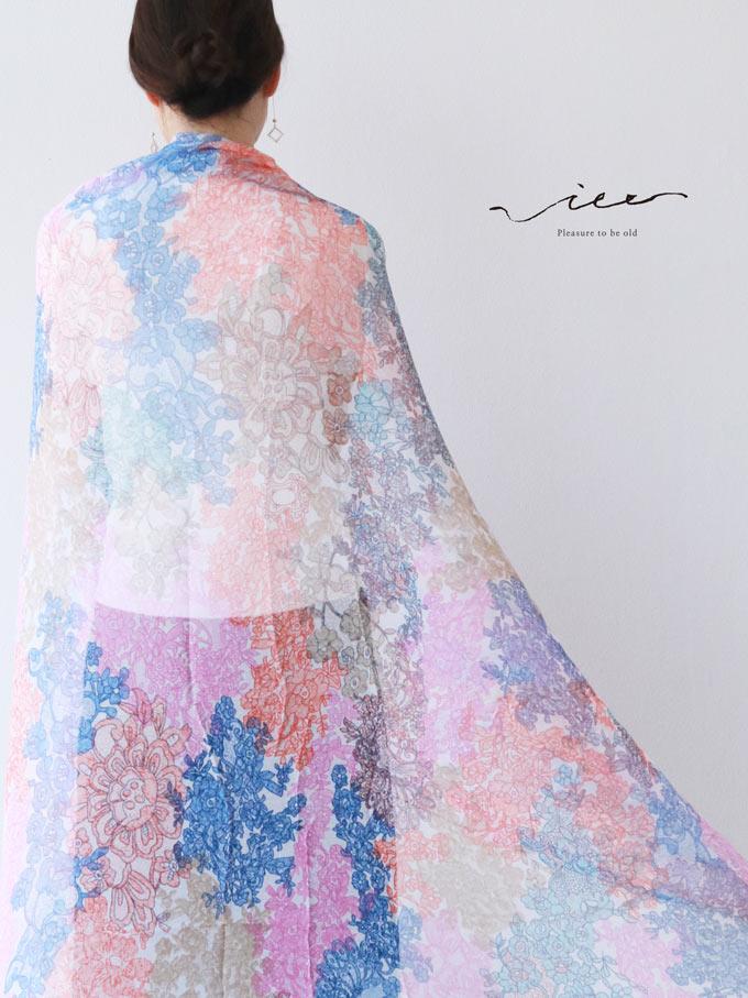 「Vieo」花の色彩を感じてストール5月1日22時販売新作