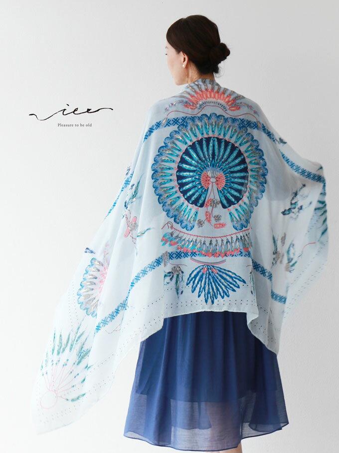 「Vieo」鮮やかに、凛と舞うストール6月17日22時販売新作