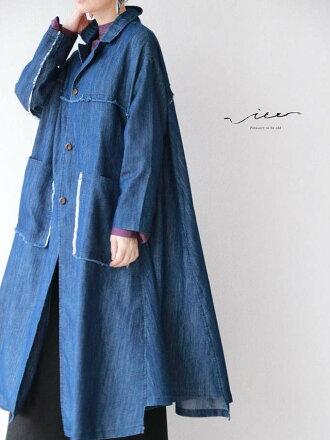 【再入荷♪♪4月2日20時より】「Vieo」媚びない大人のデニムコート