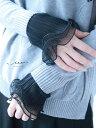 【再入荷1月7日20時より】(ブラック)「Vieo」咲き舞う付け袖