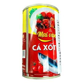 VISSAN あじのトマトソース漬け 150g 1缶 VISSAN CA XOT CA 150g 1lon 【アジアン、エスニック、ベトナム食材、ベトナム食品、ベトナム料理 魚の缶詰 保存食】