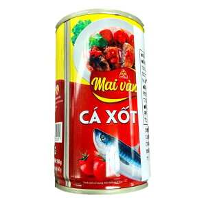VISSAN あじのトマトソース漬け 150g 10缶 VISSAN CA XOT CA 150g 10lon 【アジアン、エスニック、ベトナム食材、ベトナム食品、ベトナム料理 魚の缶詰 保存食】