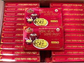 MINH NGOC 緑豆菓子 240g 1箱 BANH DAU XANH MINH NGOC 240g 1hop 【アジアン、エスニック、ベトナム食材、ベトナム食品、ベトナム料理、お菓子、茶菓子、緑豆】