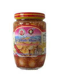 Ngoc Lien なすびの塩漬け唐辛子入り 400g 1瓶 Ngoc Lien Ca Phao Dam Ot 400g 1 hu 【アジアン、エスニック、ベトナム食材、ベトナム食品、ベトナム料理、漬物】