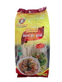HUONG NAM ブンボーフエ(ベトナム太麺ビーフン) 500g 1袋 Bun bo hue HUONG NAM 500g 1goi 【アジアン、エスニック、ベトナム食材、ベトナム食品、ベトナム料理、ライスヌードル、ブン、ビーフン、チリソース】
