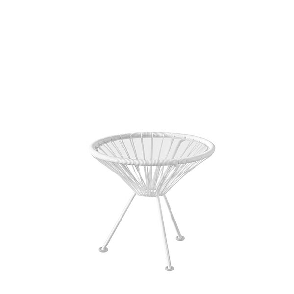 【7/14-7/20エントリーでポイント10倍】【特別カラー】アカプルコ サイドテーブル マキシマム ホワイト Acapulco Side Table METROCS メトロクス 2018年特別モデル 白