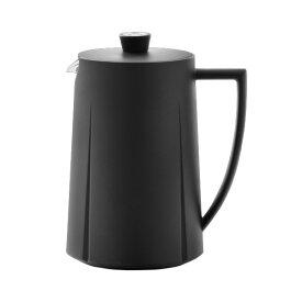 【100円クーポン対象】コーヒー プランジャー 1.0L フレンチ プレス ローゼンダール グランクリュ 16080 ブラック ポット カフェ メーカー ティー 大容量 珈琲 Rosendahl GRAND CRU