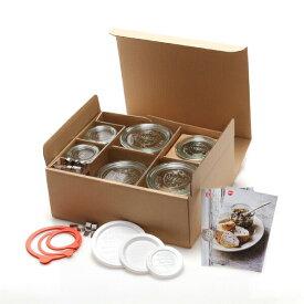 P2倍&100円クーポン対象 WECK ウェック キャニスターセットA WE-S101 ギフト ガラス キャニスター セット 保存 容器