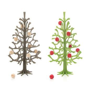 ツリー,グリーティングカード,かわいい,木目,灰色,グレー,緑,デコレーション,ロビ,木,ミニ,小さい,